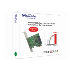 Highpoint Rocket 620 SATA3 PCIe 2.0 card