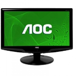"AOC 18.5"" WIDE LCD 5MS BLK GLOSSY"