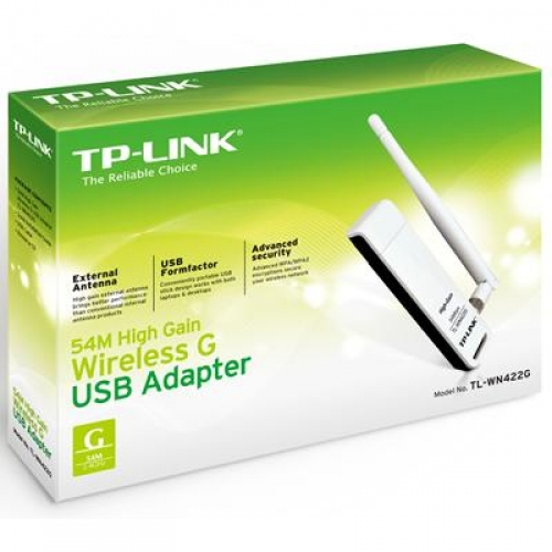 54MBPS HIGH GAIN WIRELESS USB ADAPTER TL-WN422G DRIVER DOWNLOAD