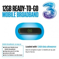 3 Mobile Broadband 12GB Starter