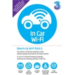 In Car Wifi from Three inc 1gb data