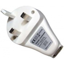USB UK MAINS CHARGER